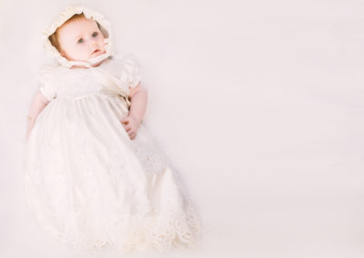 Fine Art christening portrait by Studio G Photography Oldham