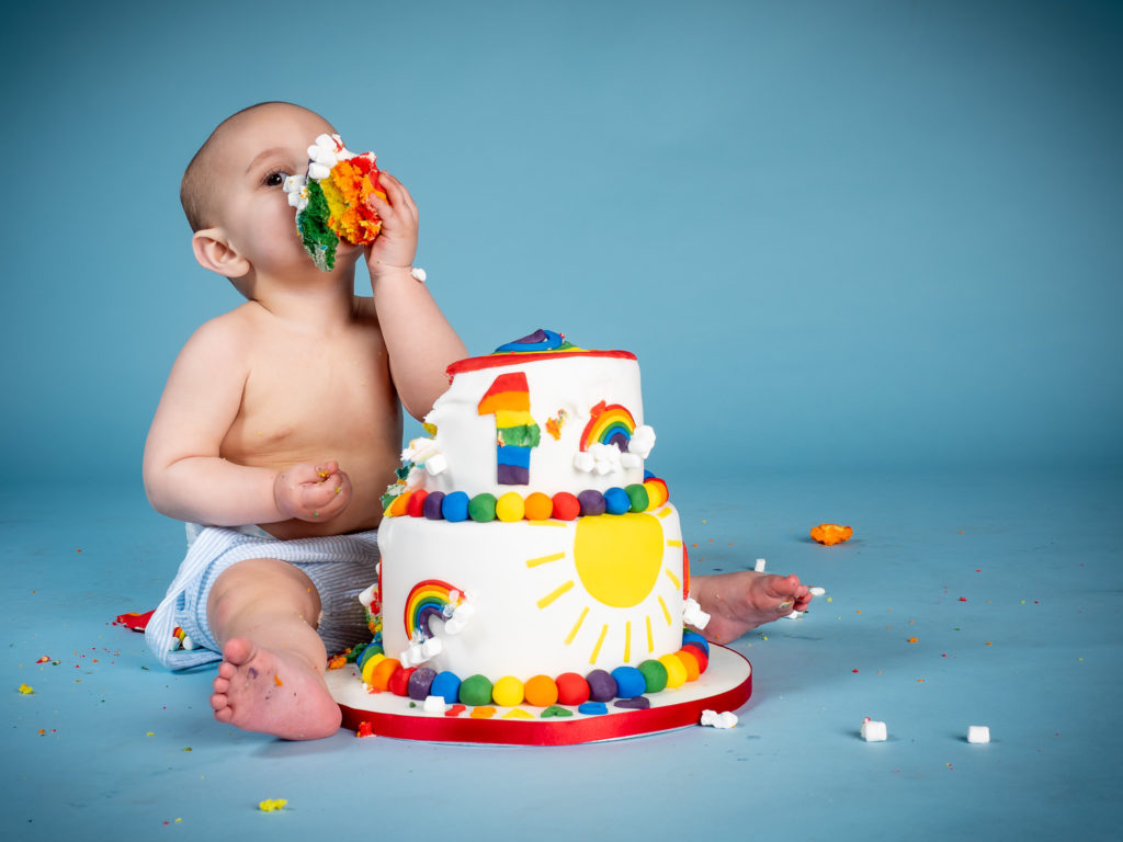 First birthday cake smash photoshoot by Stdio G Photography